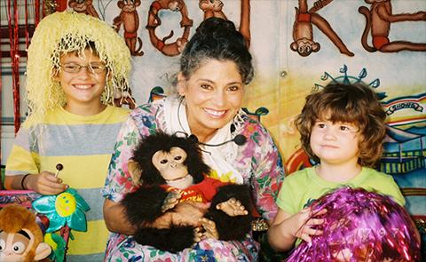 monkeys at fair