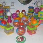 monkey safe fisher price blocks and ball toys