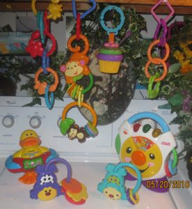 vtech monkey safe musical and hanging toys
