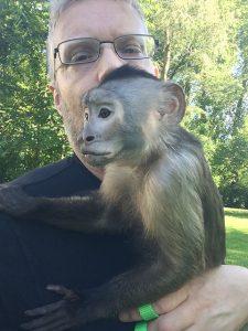 cooper rehome capuchin monkey