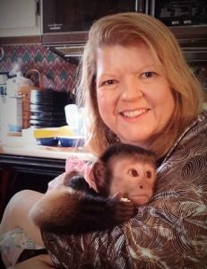lisa and opie capuchin