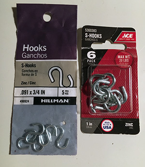 s hooks for neck collars