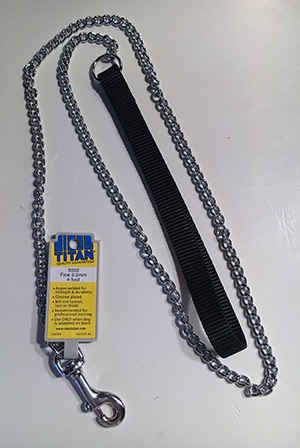 welded link chain monkey