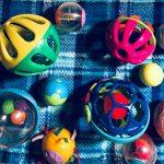 monkey toys balls