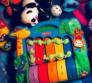 primate musical toys