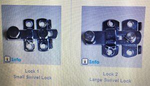 swivel lock
